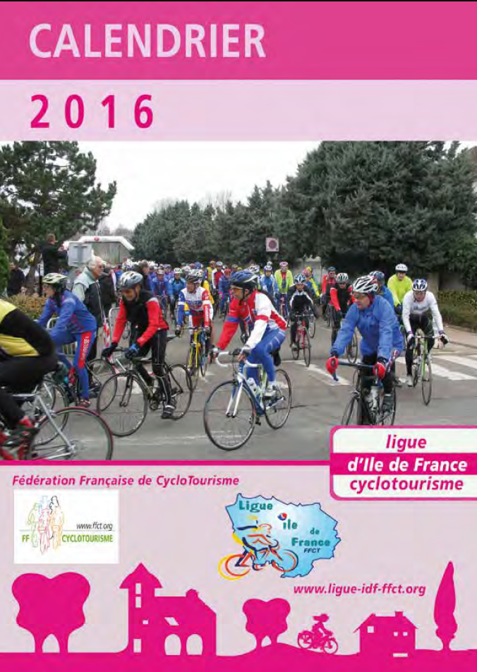 Calendrier Ligue Ile de France 2016   Codep94